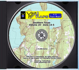 YellowMaps U.S. Topo Maps Central USA DVD Collection