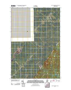 Saint Adalbert Quebec Historical topographic map, 1:24000 scale, 7.5 X 7.5 Minute, Year 2011