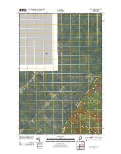 Saint Omer Quebec Historical topographic map, 1:24000 scale, 7.5 X 7.5 Minute, Year 2011