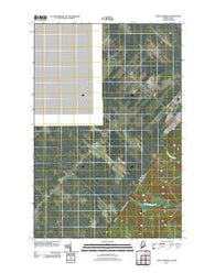 Saint Pamphile Quebec Historical topographic map, 1:24000 scale, 7.5 X 7.5 Minute, Year 2011