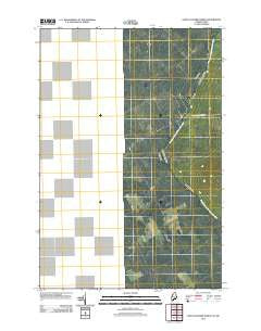 Saint Zacharie North Quebec Historical topographic map, 1:24000 scale, 7.5 X 7.5 Minute, Year 2011