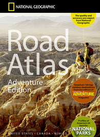 Buy map USA, Canada and Mexico Road Atlas - Adventure Edition by National Geographic Maps