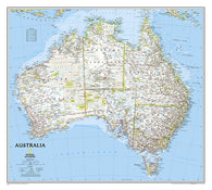 Buy map Australia, Classic, Sleeved by National Geographic Maps