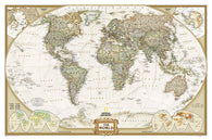 Buy map World, Executive, Laminated by National Geographic Maps