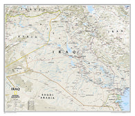 Buy map Iraq, Classic, Sleeved by National Geographic Maps