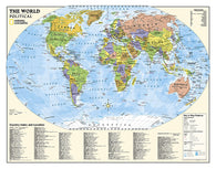 Buy map World, Kids, Political Education (Grades 4-12), Wall Map by National Geographic Maps