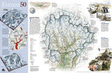 Mount Everest/Himalayas 50th Anniversary, 2-Sided, Tubed by National Geographic Maps - Back of map