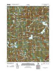 Coventry Center Rhode Island Historical topographic map, 1:24000 scale, 7.5 X 7.5 Minute, Year 2012