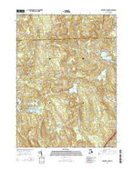 Coventry Center Rhode Island Current topographic map, 1:24000 scale, 7.5 X 7.5 Minute, Year 2015 from Rhode Island Map Store