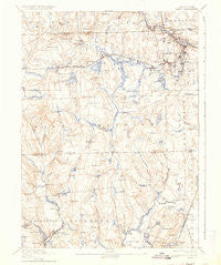 Kent Rhode Island Historical topographic map, 1:62500 scale, 15 X 15 Minute, Year 1894