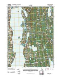 Tiverton Rhode Island Historical topographic map, 1:24000 scale, 7.5 X 7.5 Minute, Year 2012