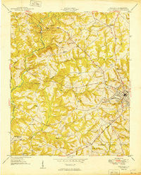 Abbeville South Carolina Historical topographic map, 1:24000 scale, 7.5 X 7.5 Minute, Year 1949