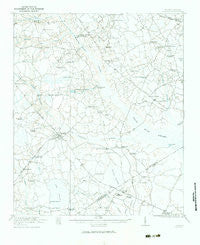 Bowman South Carolina Historical topographic map, 1:62500 scale, 15 X 15 Minute, Year 1921