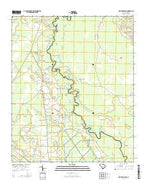 Brittons Neck South Carolina Current topographic map, 1:24000 scale, 7.5 X 7.5 Minute, Year 2014 from South Carolina Map Store