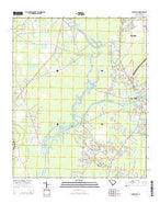 Bucksville South Carolina Current topographic map, 1:24000 scale, 7.5 X 7.5 Minute, Year 2014 from South Carolina Map Store