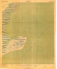 Bulls Island South Carolina Historical topographic map, 1:21120 scale, 7.5 X 7.5 Minute, Year 1919