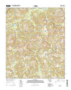 Cash South Carolina Current topographic map, 1:24000 scale, 7.5 X 7.5 Minute, Year 2014 from South Carolina Map Store