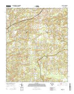 Cassatt South Carolina Current topographic map, 1:24000 scale, 7.5 X 7.5 Minute, Year 2014 from South Carolina Map Store
