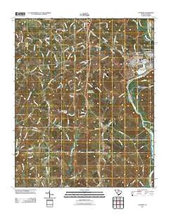 Catawba South Carolina Historical topographic map, 1:24000 scale, 7.5 X 7.5 Minute, Year 2011