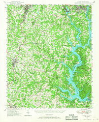Clover South Carolina Historical topographic map, 1:62500 scale, 15 X 15 Minute, Year 1947