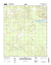 Clubhouse Crossroads South Carolina Current topographic map, 1:24000 scale, 7.5 X 7.5 Minute, Year 2014 from South Carolina Maps Store