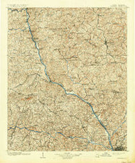 Columbia South Carolina Historical topographic map, 1:125000 scale, 30 X 30 Minute, Year 1904
