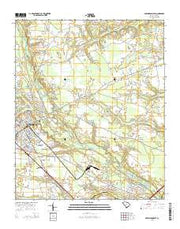 Darlington East South Carolina Current topographic map, 1:24000 scale, 7.5 X 7.5 Minute, Year 2014 from South Carolina Maps Store