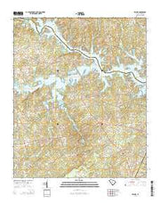 Delmar South Carolina Current topographic map, 1:24000 scale, 7.5 X 7.5 Minute, Year 2014 from South Carolina Maps Store