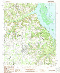 Elloree South Carolina Historical topographic map, 1:24000 scale, 7.5 X 7.5 Minute, Year 1988