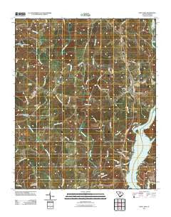 Fort Lawn South Carolina Historical topographic map, 1:24000 scale, 7.5 X 7.5 Minute, Year 2011