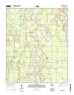 Friendship South Carolina Current topographic map, 1:24000 scale, 7.5 X 7.5 Minute, Year 2014 from South Carolina Map Store