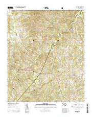 Good Hope South Carolina Current topographic map, 1:24000 scale, 7.5 X 7.5 Minute, Year 2014 from South Carolina Maps Store