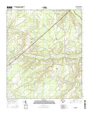 Grays South Carolina Current topographic map, 1:24000 scale, 7.5 X 7.5 Minute, Year 2014 from South Carolina Maps Store