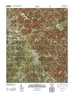 Joanna South Carolina Historical topographic map, 1:24000 scale, 7.5 X 7.5 Minute, Year 2011