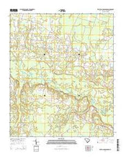 Kellehan Crossroads South Carolina Current topographic map, 1:24000 scale, 7.5 X 7.5 Minute, Year 2014 from South Carolina Maps Store