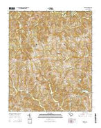 Kelton South Carolina Current topographic map, 1:24000 scale, 7.5 X 7.5 Minute, Year 2014 from South Carolina Map Store