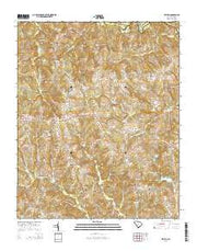 Kelton South Carolina Current topographic map, 1:24000 scale, 7.5 X 7.5 Minute, Year 2014 from South Carolina Maps Store