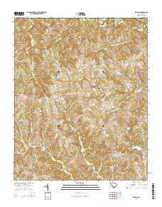 Kelton South Carolina Current topographic map, 1:24000 scale, 7.5 X 7.5 Minute, Year 2014