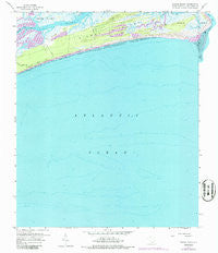 Kiawah Island South Carolina Historical topographic map, 1:24000 scale, 7.5 X 7.5 Minute, Year 1959