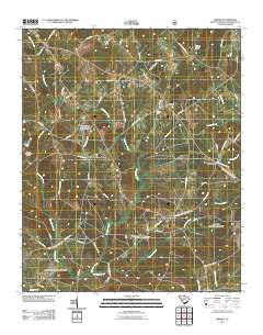 Kirksey South Carolina Historical topographic map, 1:24000 scale, 7.5 X 7.5 Minute, Year 2011