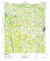 Lake City South Carolina Historical topographic map, 1:62500 scale, 15 X 15 Minute, Year 1946