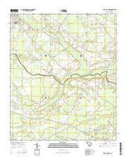 Lake City East South Carolina Current topographic map, 1:24000 scale, 7.5 X 7.5 Minute, Year 2014 from South Carolina Maps Store