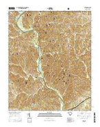 Leeds South Carolina Current topographic map, 1:24000 scale, 7.5 X 7.5 Minute, Year 2014 from South Carolina Map Store