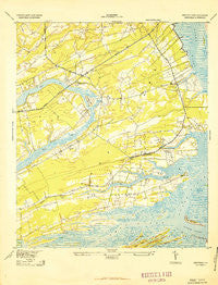 Legareville South Carolina Historical topographic map, 1:24000 scale, 7.5 X 7.5 Minute, Year 1943
