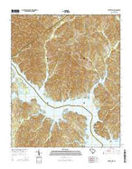 Liberty Hill South Carolina Current topographic map, 1:24000 scale, 7.5 X 7.5 Minute, Year 2014 from South Carolina Map Store