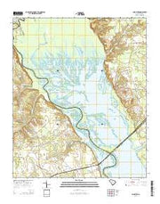 Lone Star South Carolina Current topographic map, 1:24000 scale, 7.5 X 7.5 Minute, Year 2014 from South Carolina Maps Store