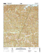 Longtown South Carolina Current topographic map, 1:24000 scale, 7.5 X 7.5 Minute, Year 2014 from South Carolina Map Store