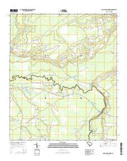 Maple Cane Swamp South Carolina Current topographic map, 1:24000 scale, 7.5 X 7.5 Minute, Year 2014 from South Carolina Maps Store