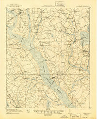 Mayesville South Carolina Historical topographic map, 1:62500 scale, 15 X 15 Minute, Year 1921