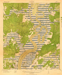 Melgrove South Carolina Historical topographic map, 1:21120 scale, 7.5 X 7.5 Minute, Year 1919